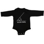 acute baby baby black long sleeve