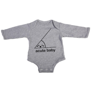 acute baby baby grey long sleeve