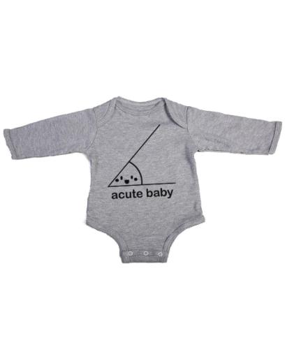 acute baby baby grey long sleeve