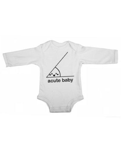 acute baby baby white long sleeve