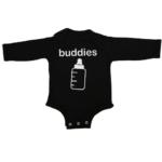 buddies baby black long sleeve