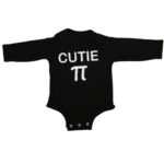 cutie pi baby black long sleeve