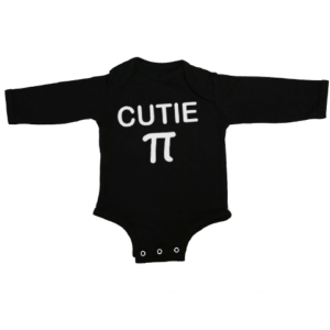 cutie pi baby black long sleeve
