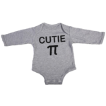 cutie pi baby grey long sleeve