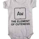 element of cuteness baby grey