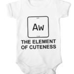 element of cuteness baby white