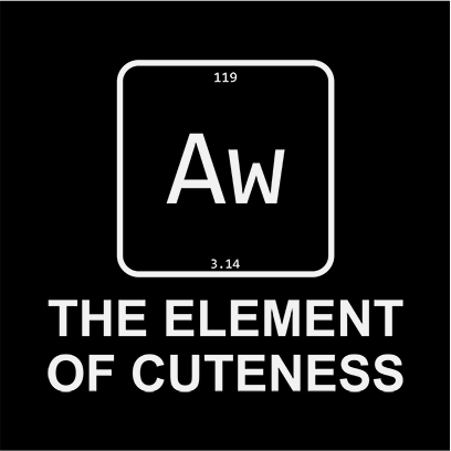 element of cuteness black square
