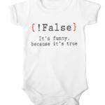 false its funny baby white
