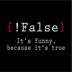 false its funny black square