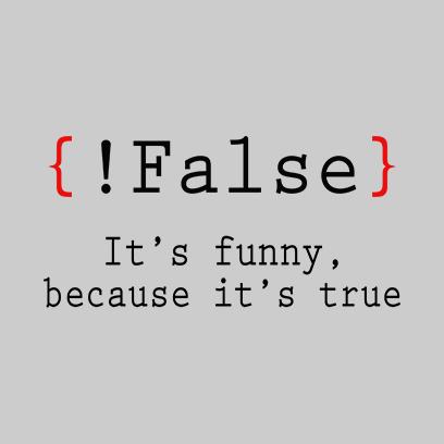 false its funny grey square