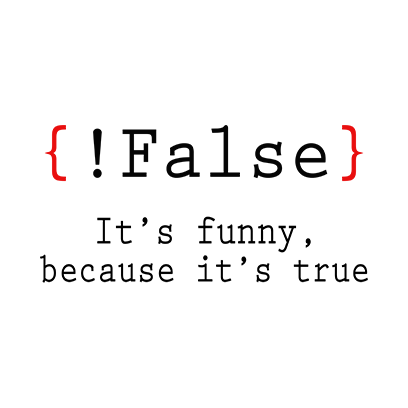 false its funny white square