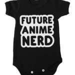 future anime nerd baby black