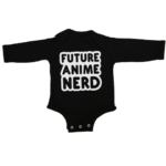 future anime nerd baby black long sleeve
