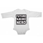 future anime nerd baby white long sleeve
