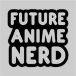 future anime nerd grey square