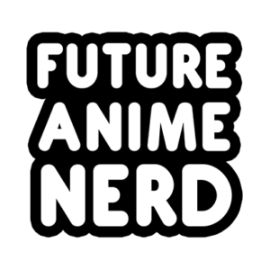 future anime nerd white square