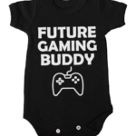 future gaming buddy baby black