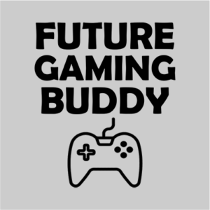 future gaming buddy grey square