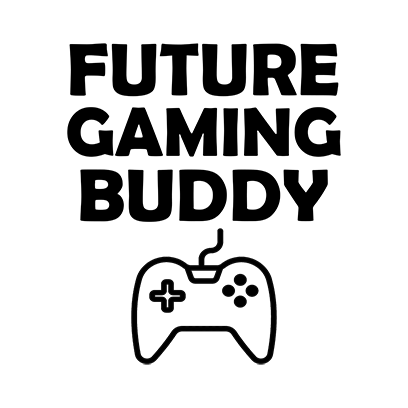 future gaming buddy white square