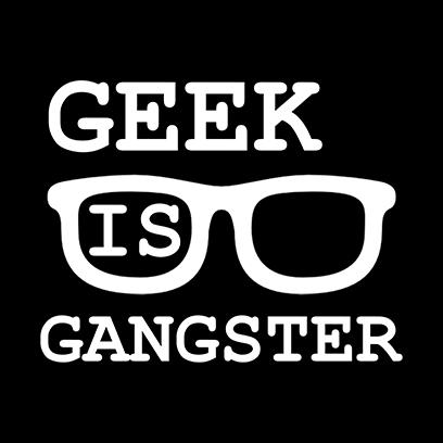 geek is gangster black square