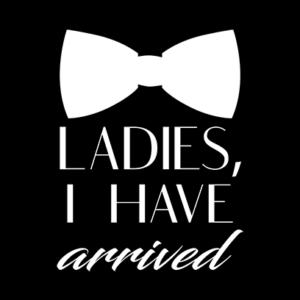 ladies ive arrived black square