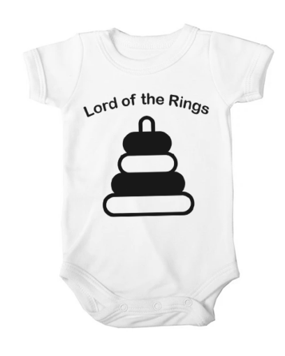 lord of baby rings baby white