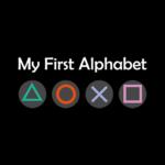 my first alphabet black square