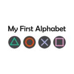 my first alphabet white square