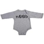 noob baby grey long sleeve