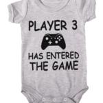 player 3 baby grey
