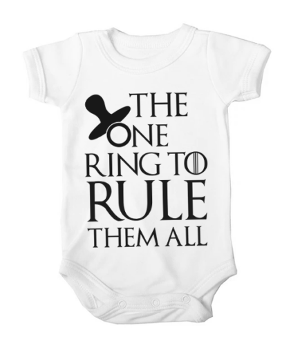 the one ring baby white