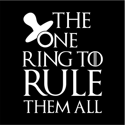 the one ring black square