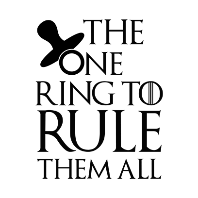 the one ring white square