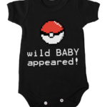 wild baby appeared baby black