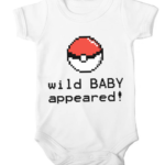 wild baby appeared baby white