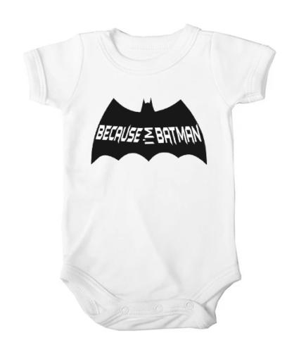 because im batman baby white