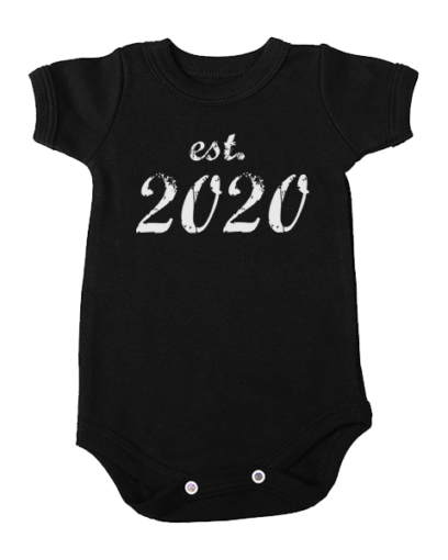 established 2020 baby black