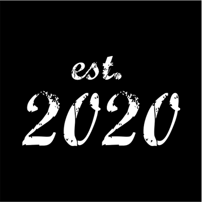 established 2020 black square