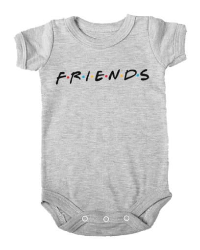 friends baby grey