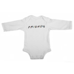 friends baby white long sleeve