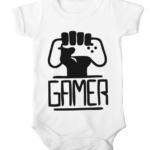 gamers unite baby white
