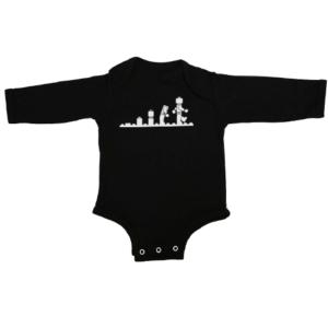 lego evolution baby black long sleeve