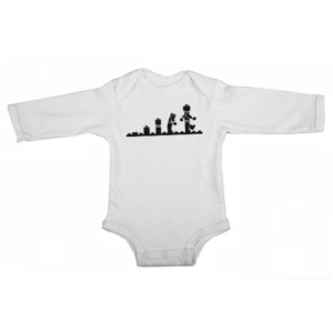 lego evolution baby white long sleeve