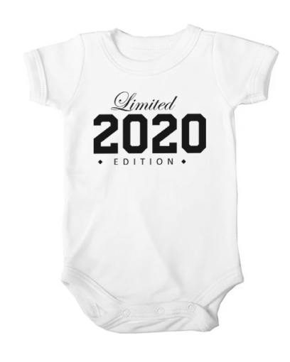 limited edition 2020 baby white