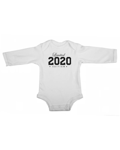 limited edition 2020 baby white long sleeve