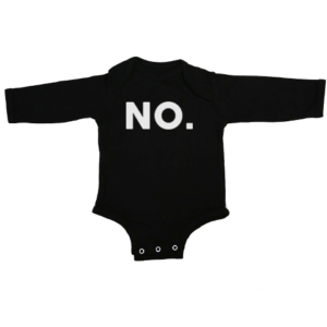 no baby black long sleeve