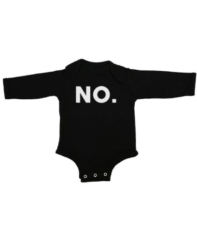 no baby black long sleeve
