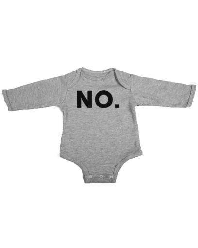 no baby grey long sleeve