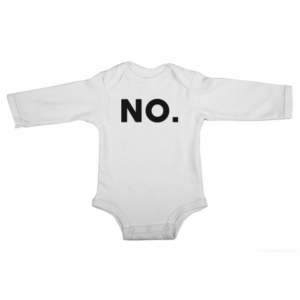 no baby white long sleeve