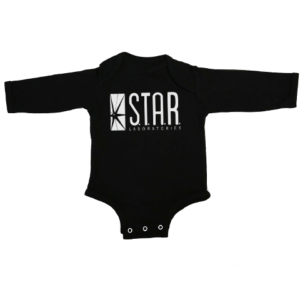 star labs baby black long sleeve